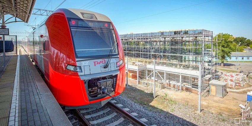 Расписание поездов от «Стрешнево» изменится на выходные июля